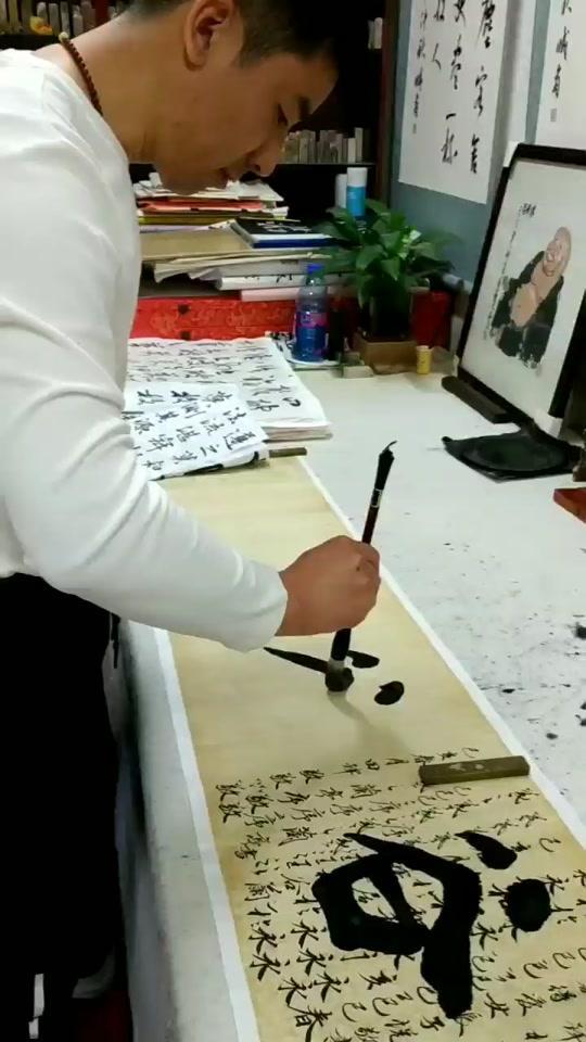 宣笔【海清】老师专用长锋羊毫毛笔 专用羊毫毛笔
