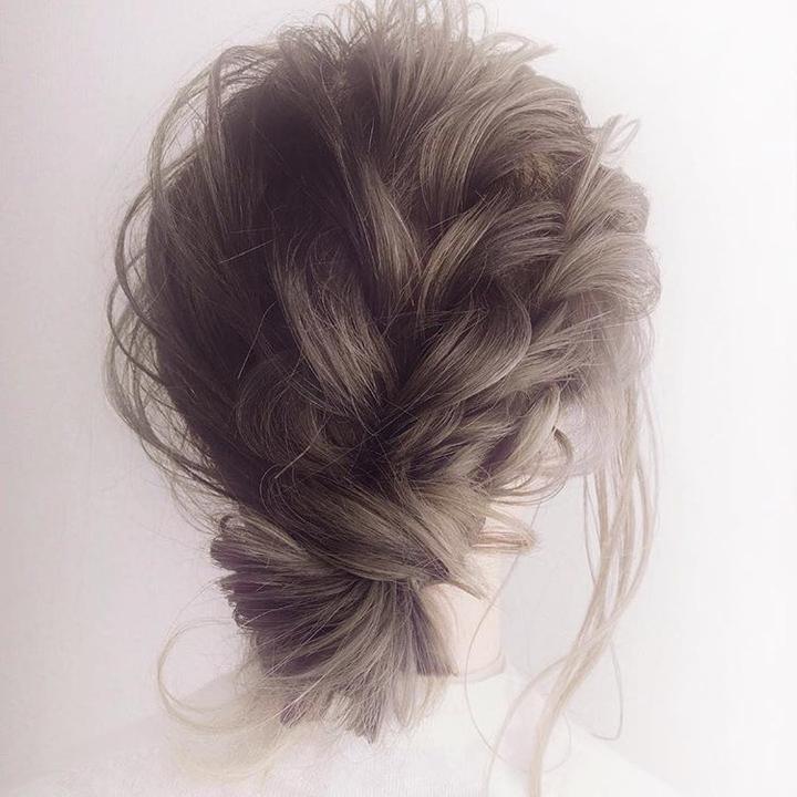 小素苗百变发型