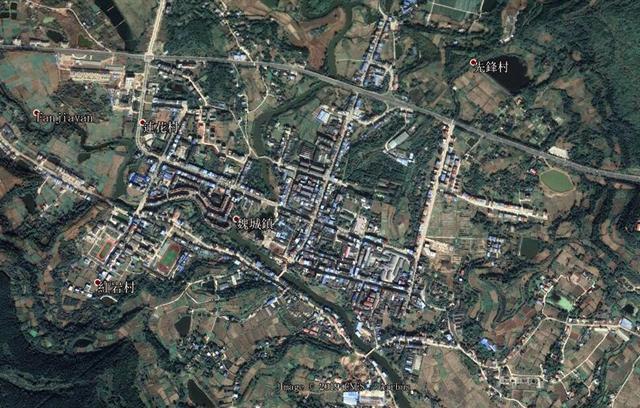四川绵阳游仙区第一大镇,在古代曾是一个县,入选全国重点镇